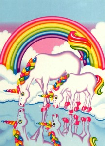 Unicorns Lisa Frank