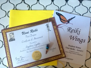 reiki certification